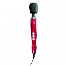 Вибромассажер DOXY Die Cast Red, очень мощный, питание 220В, металлический корпус