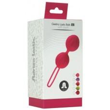 Вагинальные шарики Adrien Lastic Geisha Lastic Balls Mini Pink (S), диаметр 3,4см, вес 85гр